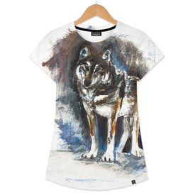 Totem timber wolf