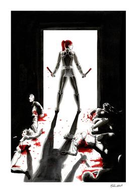 Black Widow Fan Illustration