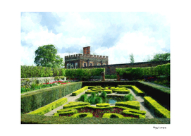 Sunken Gardens at Hampton Court