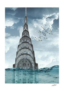 Chrysler under water