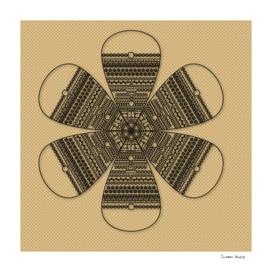 Sci-Fi Flower Mandala