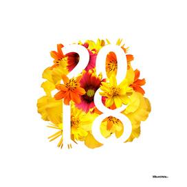 Flower Yellow 2018 - Notebooks & more