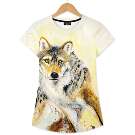Totem gray wolf