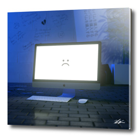 Sad Computer