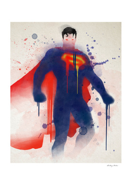 Superman Watercolor