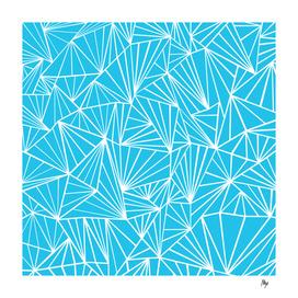 Ab Fan Electric Blue