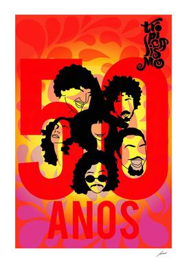 50 anos tropicalismo