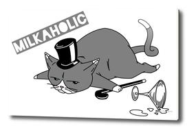 Milkaholic Cat Baron