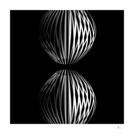 Minimal 3D Abstract Lines