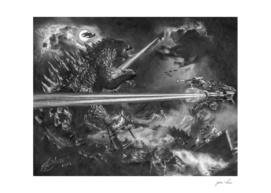 Godzilla versus Earth's Mightiest Heroes