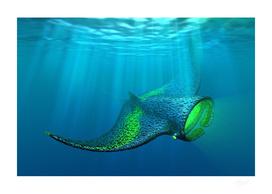 Artificial Life 1.0  Oceans -  Manta Ray