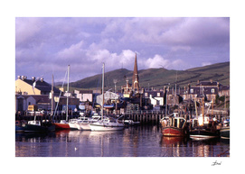 Girvan Harbour, Ayrshire, Scotland
