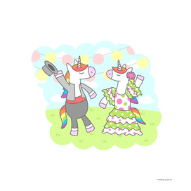 Unicorn Flamenco
