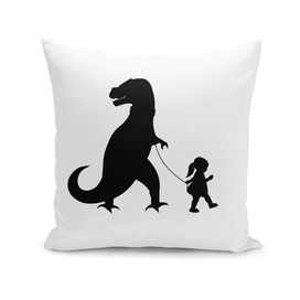 girl with t-rex