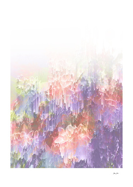 Magical Nature - Glitch Peach and Ultra-violet