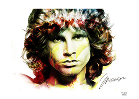 Jim Morrison in Colors