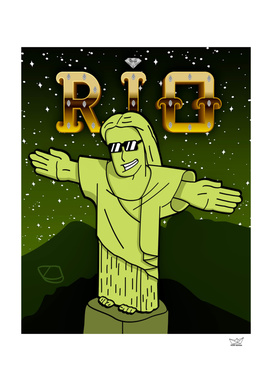 The Face of Rio - Christ