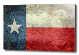 Texas flag vintage retro