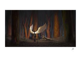 Angel of battle
