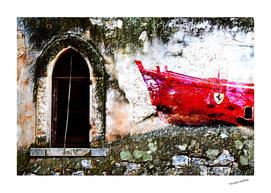 La barca rossa ferrari