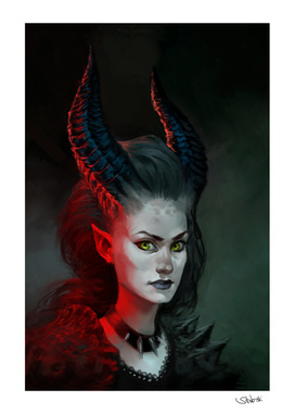 female demon