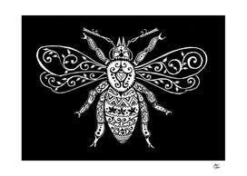 Vintage Ornate  Bee
