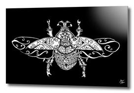 vintage ornate beetle