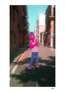 Look at the street