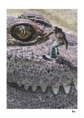 Skater croc