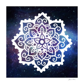 Mandala on Galaxy