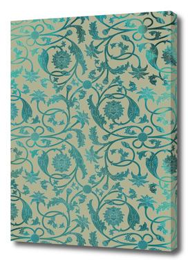 Blue Lotus Pattern