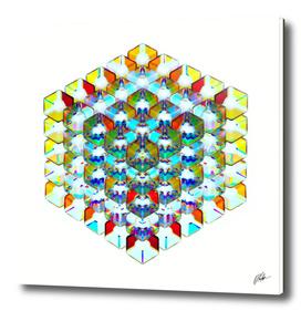 5x5x5. Glass Dispersion.