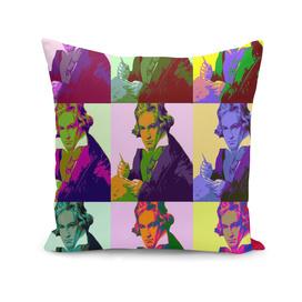 Ludwig Van Beethoven Pop Art