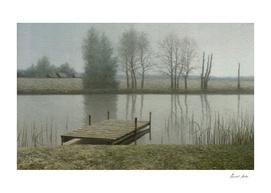 Calm dock