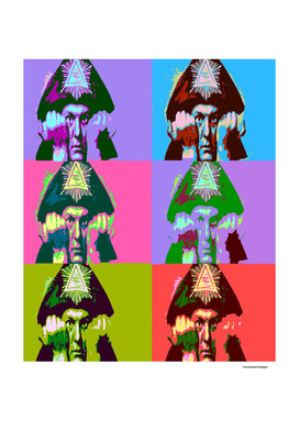 Aleister Crowley Pop Art