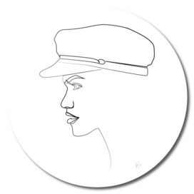 Nautical Hat Female Profile