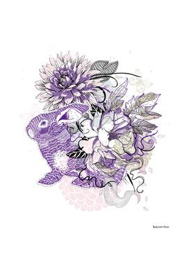 rabbit&roses