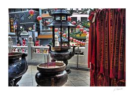 Chinatown, Yokohama/Japan, Buddhistic Temple