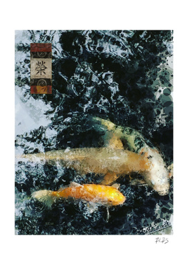 Koi Pond - Prosperity