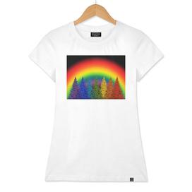 christmas colorful rainbow colors