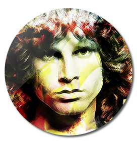 Jim Morrison in Colors