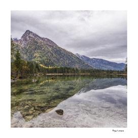 Hintersee Berchtesgaden lake Scene