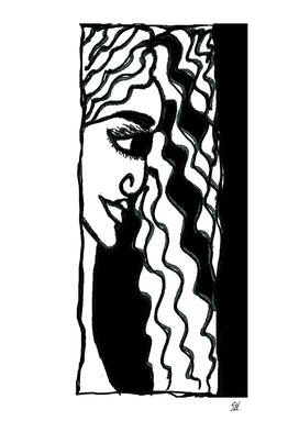 Janee In Black & White