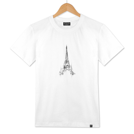 Eiffel Tower Abstract