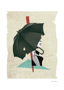composition with umbrella
