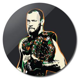 Conor McGregor Pop Art Quote