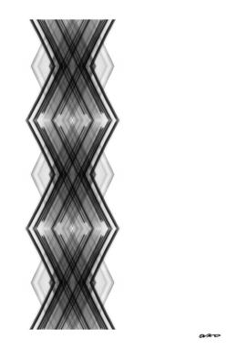 Digital Helix 03 - Geometric Minimal Abstract