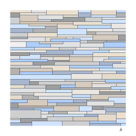 Mosaic Pattern Horizontal