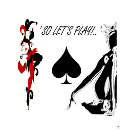 so let's play ... spades