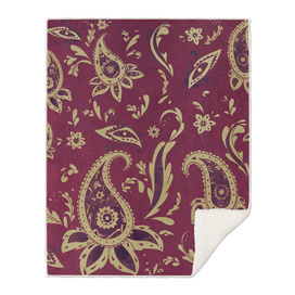 Paisley in Gold